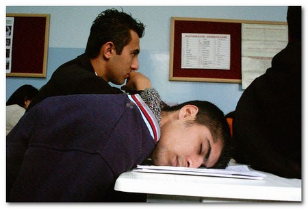 dormire scuola