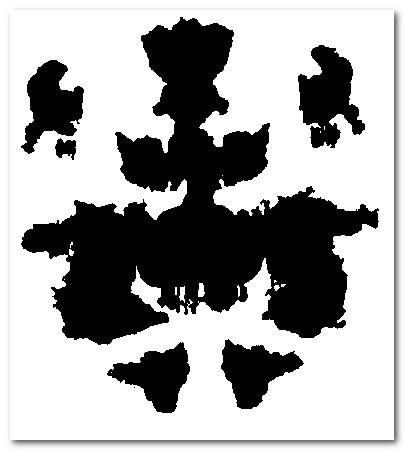 Funny rorschach che ci vedi psiche e soma - Test di rorschach tavola 1 ...